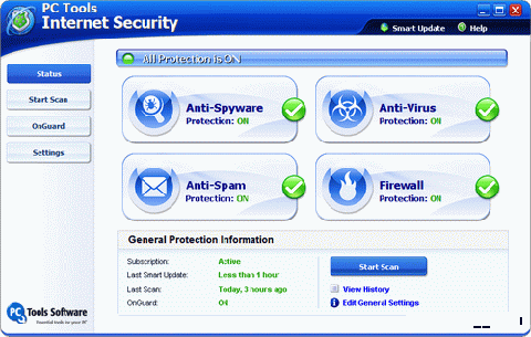 PC Tools Internet Security 2009 – FREE 1 Year Genuine License Key