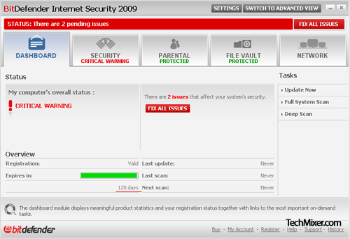 Download Free BitDefender Internet Security 2009 License Key
