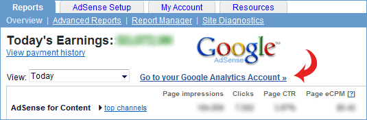 Integrate Google Analytics with Adsense Now
