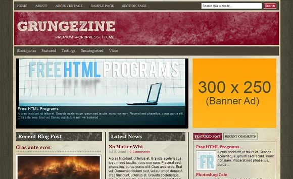 2008 12 27 234124 Free WordPress News Themes to download