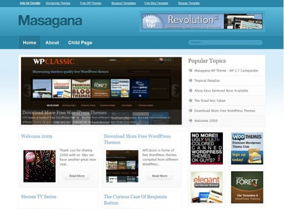 2009 01 16 104407 580x426 Free WordPress News Themes to download