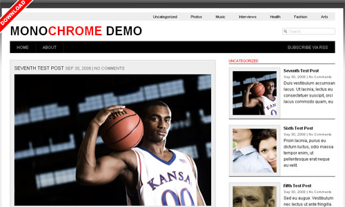 bte a10 20 Free WordPress News Themes to download