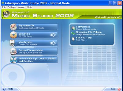 Download Ashampoo Music Studio 2009 for FREE!!
