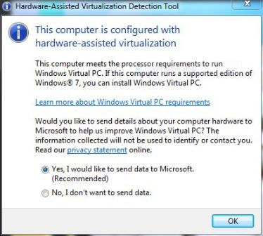 Check If Your PC Can Run Windows XP Mode in Windows 7