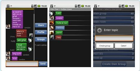 live-chat-android app